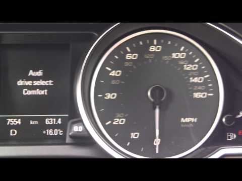 2013 Audi S5, 0-60 times in Dynamic/Comfort/Comfort (sport)!!!!!