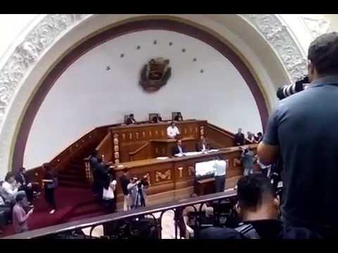 El discurso del hermano de Miguel Castillo en la Asamblea Nacional