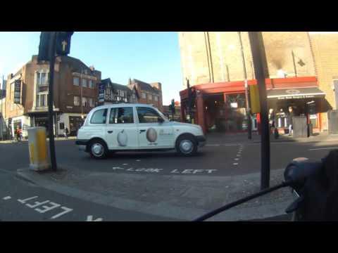 Cycling in Hackney: Hackney Road / Old Street