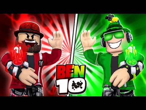 TRANSFORMING INTO COOL AVATARS In ROBLOX BEN 10 TYCOON