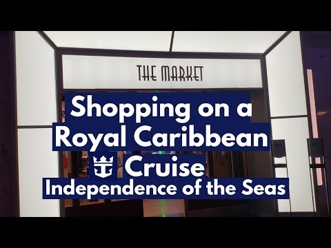 Royal Caribbean Shopping On A Cruise Ship, Independence Of The Seas