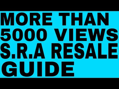 S.R.A......Re-Sale Flat Guide.