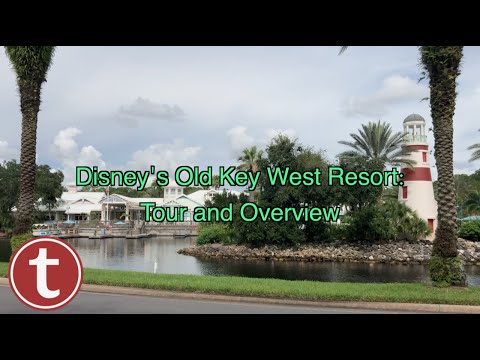 DISNEY'S OLD KEY WEST RESORT: Tour and Overview