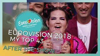 Eurovision 2018: Top 43 (After The Show)