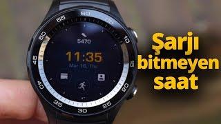 Huawei Watch GT ön inceleme! Şarjı bitmeyen akıllı saat!