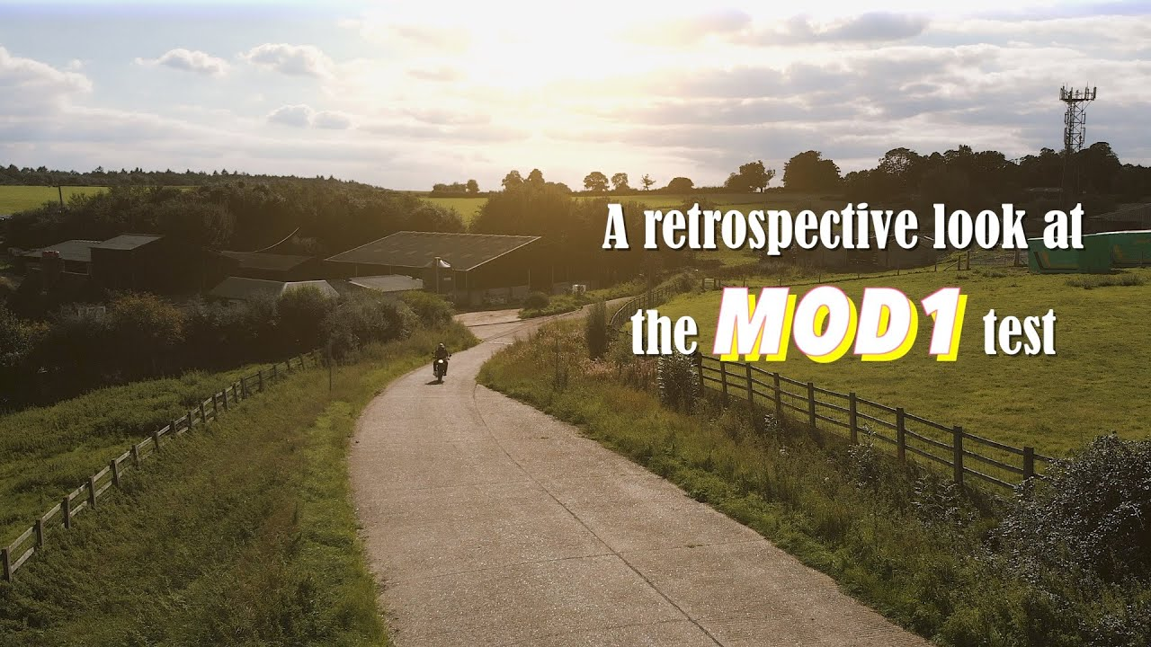A retrospective look at the motorcycle MOD 1 Test 2020