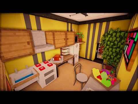 Кухня и коридор - Серия 7, ч. 2 - Minecraft - Строительный креатив