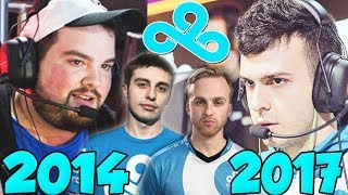 The Complete Evolution Of Cloud9 (2014 - 2017)