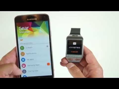 How to connect Samsung Galaxy Gear 2 to Galaxy S5