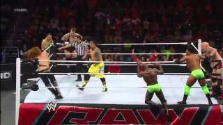 12 Days of Christmas 12-Man Tag Team Match: Raw, Dec. 24, 2012