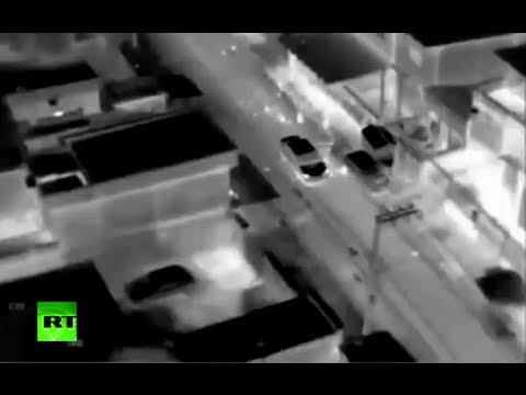 Shocking video: Rio police heli opens fire in slum during drug baron car chase