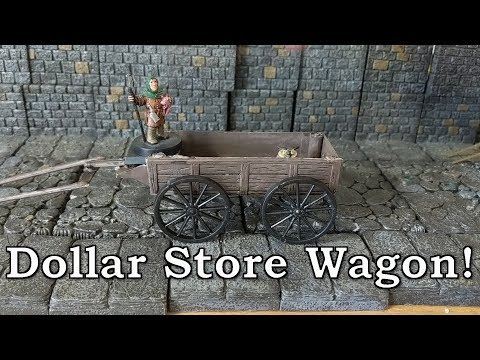 Heading Down to the Dollar Store - D&D Wagon at Dollar Tree
