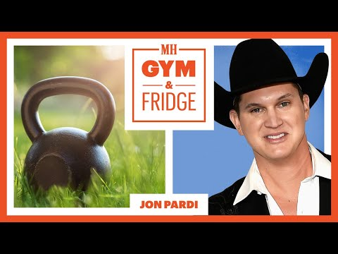 McKiddy - VIDEO: Jon Pardi Has Quite The Assortment Of Things In His Fridge
