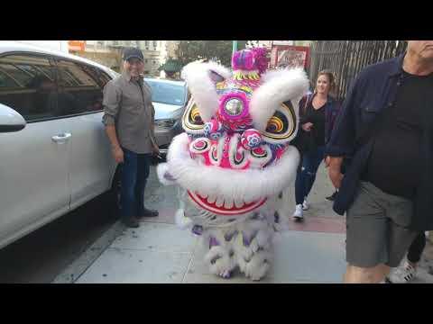 Chinatown Parade In San Francisco