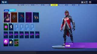 Fortnite 9.00, 9.01 Skins fuites -Emote (John Wick, Ether, Running Man V3)