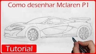 Como desenhar carros: Mclaren P1 (Parte 1)