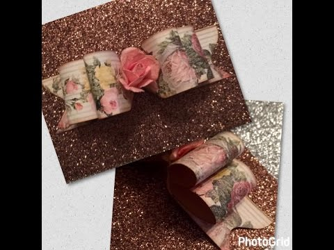 DIY Double Paper Bow Tutorial  {WRMK ENVELOPE PUNCH BOARD}