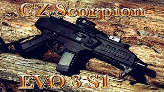 cz scorpion evo 3 s1 first shots