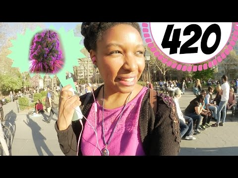 420 in NYC | Weed Lovers' Unofficial Holiday at Washington Square Park