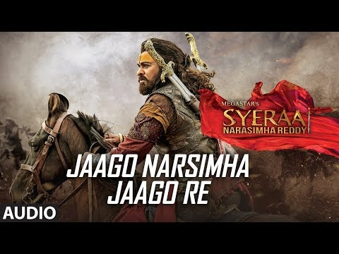 Full Song: Jaago Narsimha Jaago Re   Chiranjeevi   Amitabh Bachchan   Ram Charan   Amit Trivedi