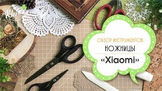 """Мои инструменты для скрапбукинга. Обзор ножниц от """"Xiaomi"""""""