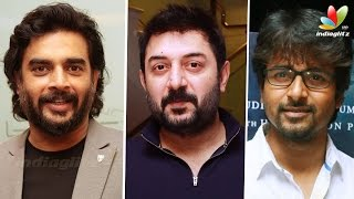 Irudhi Suttru Premiere : Arya, Sivakarthikeyan, Arvind Swamy and More Celebrities
