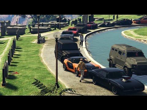 GTA 5 Fast And Furious Car Meet (Paul Walker Tribute)