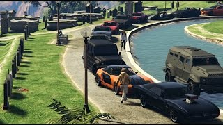 GTA 5 Fast And Furious Car Meet (Paul Walker Tribute)