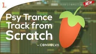 Psy Trance Full Track from scratch in FL Studio - [ 1]