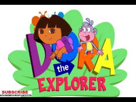 DORA THE EXPLORER ANIMATED LOGO DORA  BOOTS MAP WALKTHROUGH NICK JR