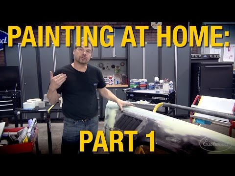 Must Have Tools For Painting A Car At Home Part 1 of 2 - Kev
