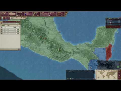 Victoria 2 Mexico Part 1-Texas Is No More