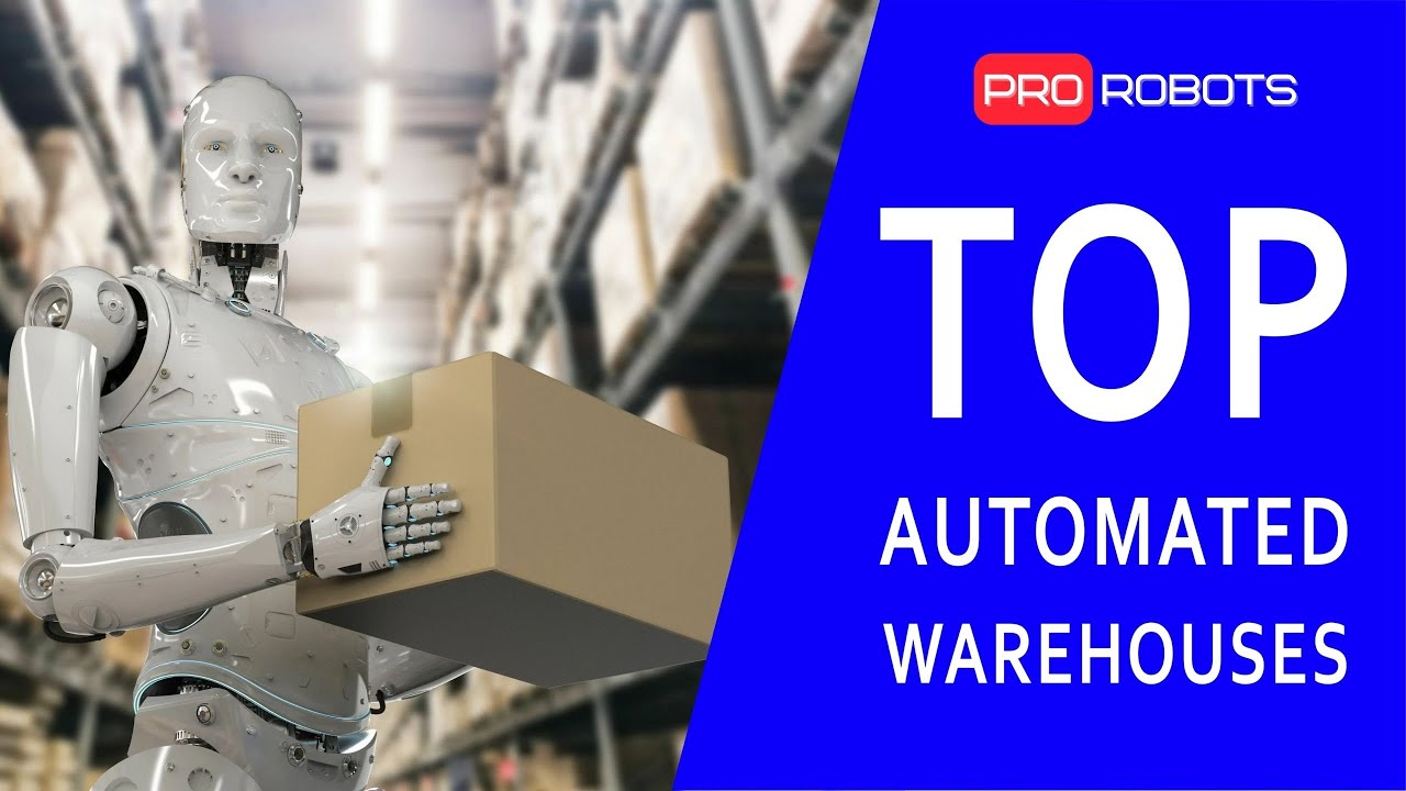 Robots do everything themselves! | Top 10 robotic warehouses in the world