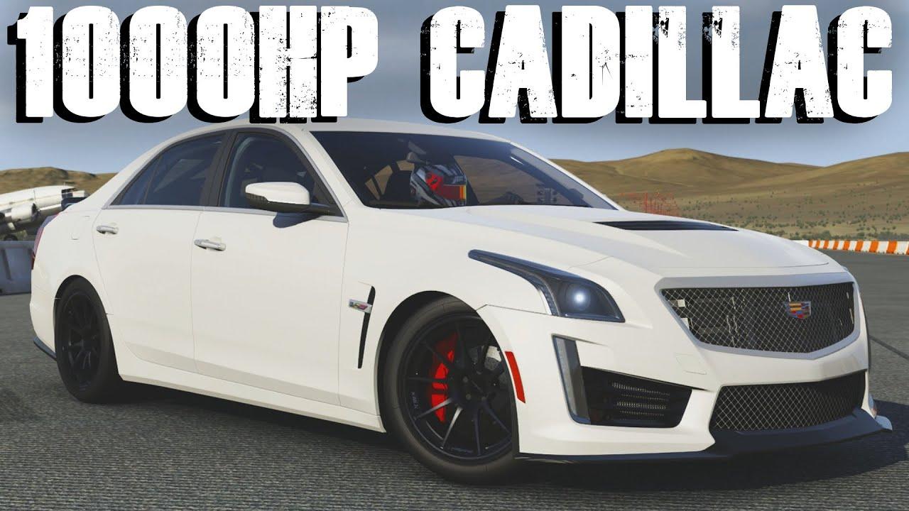 2016 Cadillac CTS-V    1000HP DRAG BUILD    Forza 6 - YouTube