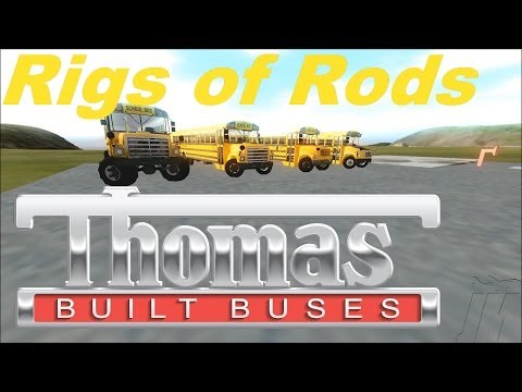 Rigs Of Rods:  New School Bus Mod