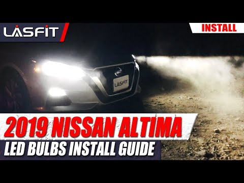 2019 Nissan Altima S | How to install LED headlight bulb turn signals interior lights…