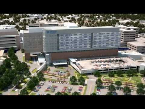 UPDATED! 4D rendition of the Capital Improvement Program at University Hospital