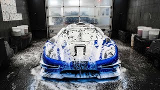 Paint Protecting The FASTEST Car In The World!