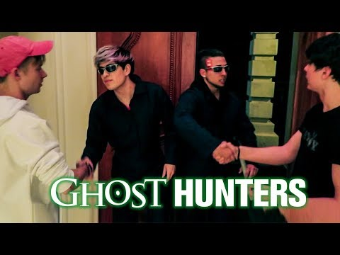GHOST HUNTERS CAME TO OUR HOUSE!