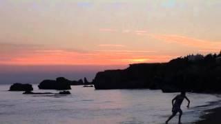 Coucher de soleil camping des îles pénestin