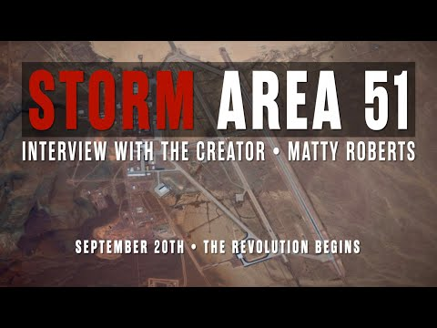 Danny Spanks - Storm Area 51 started in Bakersfield - Matty Roberts speaks!