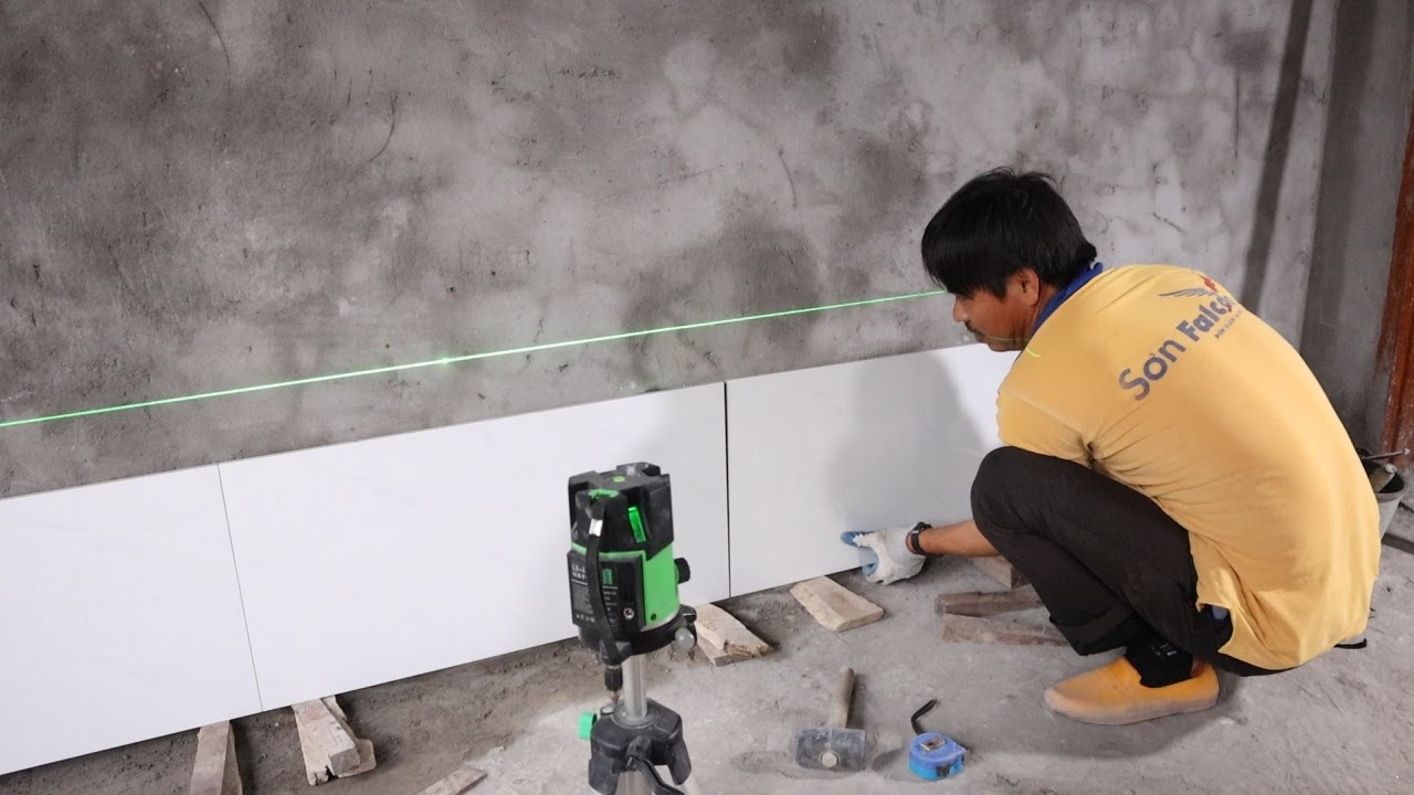 How To Install The Kitchen Wall Tiles With Ceramic Tile and Mortar