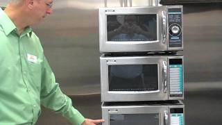 Sharp Commercial Microwave Oven 1,000 Watt Series