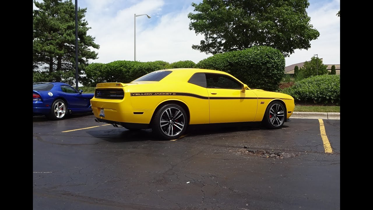 2012 Dodge Challenger Srt8 Yellow Jacket 377 392 Engine Sound On