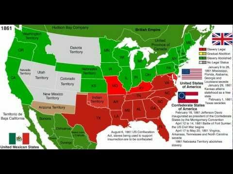 Abolition of Slavery Map: United States