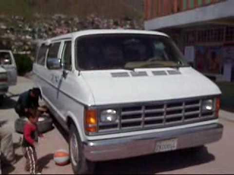 1988 Dodge Ram B350 15-Passenger School Van