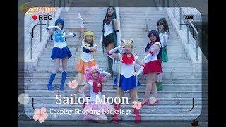 Sailor Moon Cosplay Group | Shooting Backstage Napoli Comicon 2018