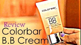 Colorbar BB cream quick review {Delhi Fashion Blogger}