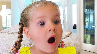 Странное Утро маленькой Дианы, забавное видео для детей