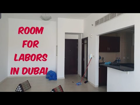 Room For Labors in Dubai/Sharjah || Studio & One-bhk || Ajman Corniche Road Covered !!